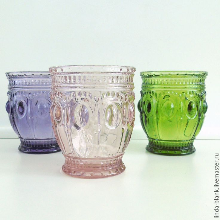 Купить Стакан Cтекло цветное melissa - разноцветный, стекло, стекло цветное, цветное стекло, стакан