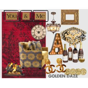 """GOLDEN DAZE"" by mandyjanem on Polyvore"