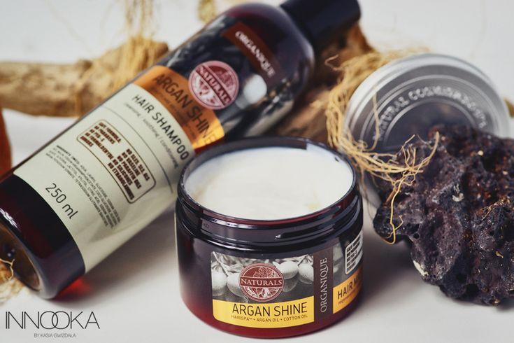 organique argan shine spa maska i szampon
