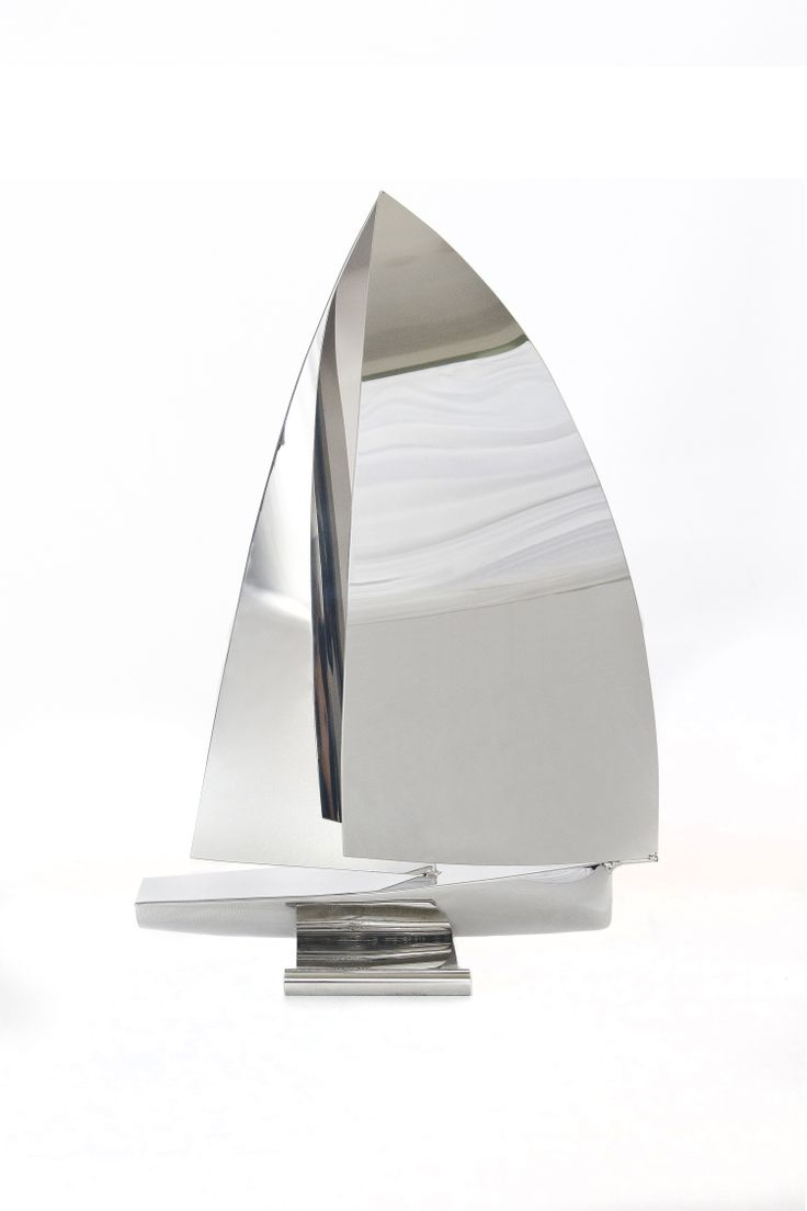 Nautical gifts for the home - Clipper Sailing Sculpture Beautiful Stainless Steel Sailing Sculpture Handmade In Cornwall By Richard Vasey This Makes A Fantastic Nautical Gift