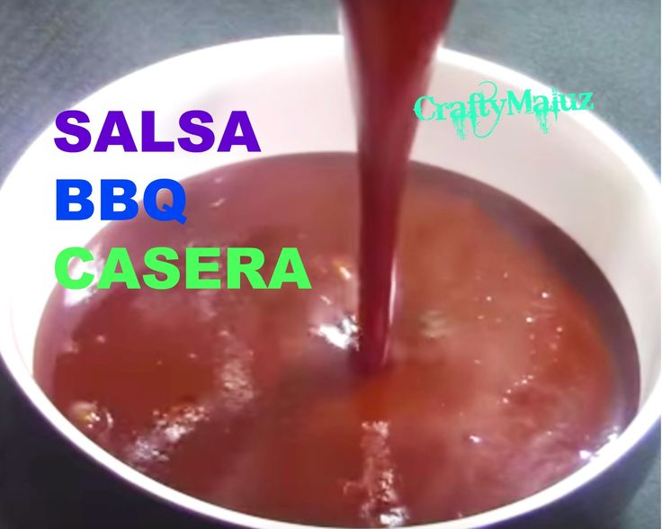 ♥Como Hacer Salsa BBQ Casera (Receta Fácil)