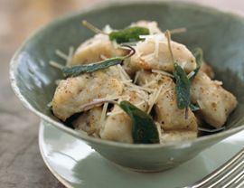 Potato Gnocchi with Butter and Sage