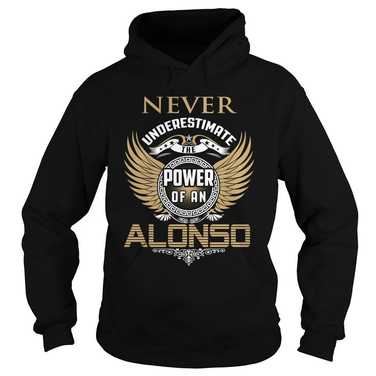 [Top tshirt name meaning] ALONSO Coupon 15% Hoodies, Funny Tee Shirts