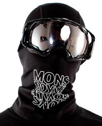 Mons Royale Balaclava Black