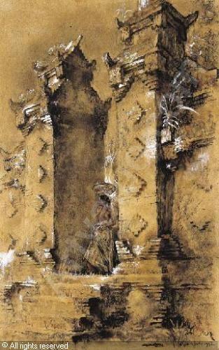 hofker-willem-gerard-1902-1980-balinese-girl-on-the-steps-of-2071834-500-500-2071834.jpg (313×500)