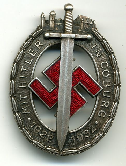 AILSBY'S, THIRD REICH CATELOGUE OF VALUES: NSDAP Awards.