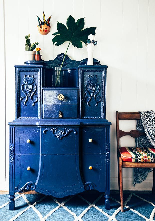 Painted Dresser and a giveaway | The Jungalow