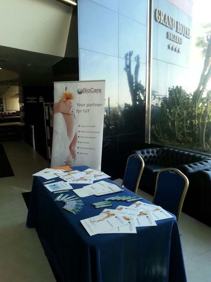 #IVF #Fertility event in Salerno (Italy) Our colleague is there to answer all your question on lab equipment & products