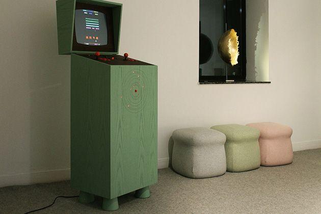 Pixelkabinett, une borne d'arcade rétro et stylé !