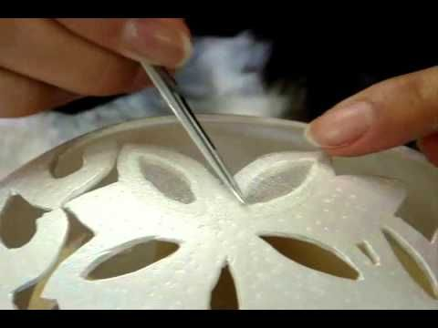 ▶ Egg Art Processing by Helena - YouTube...I REALLY want to learn how to do this!