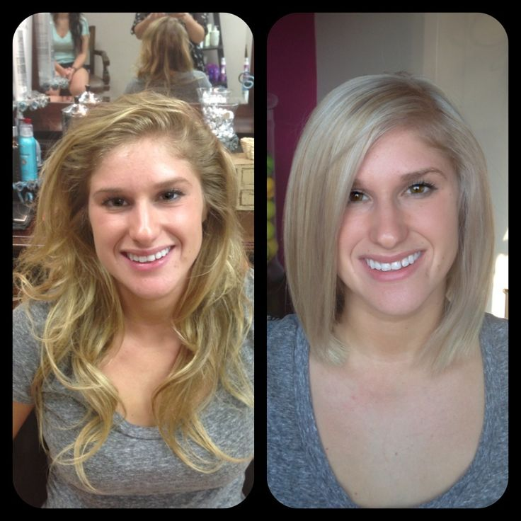 Long to short! Haircut Before and after. | Haircuts and ...
