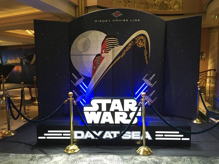 Travel Diary of family cruise onboard the Disney Fantasy and the Star Wars Day at Sea activities there for everyone. Disney Cruise lines review....