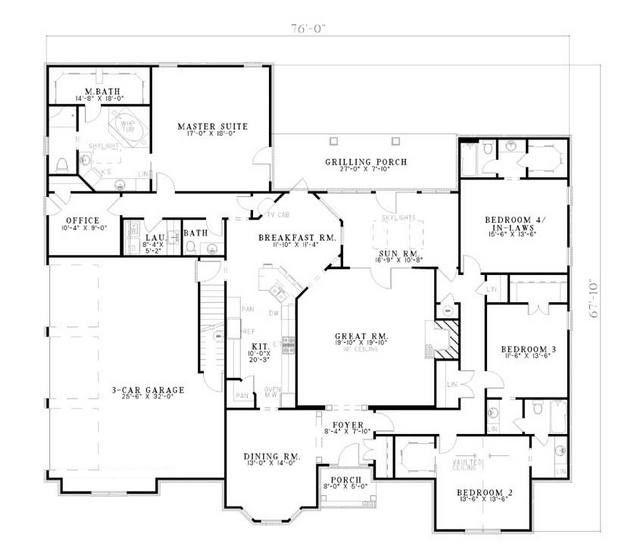 House Plan 110 00512 Traditional Plan 4 303 Square Feet 5