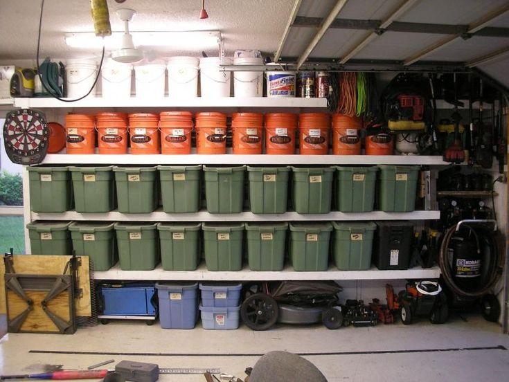 Garage Storage System By Taumac    Homemade Garage Storage System  Consisting Of Repurposed 5