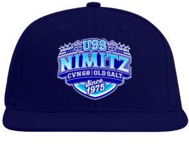 USS Nimitz CVN 68 - Old Salt - Baseball Cap