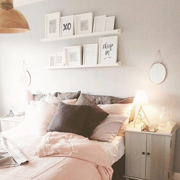"""""""Isn't @hmirls's bedroom the loveliest place to wake up on a sunny Saturday morning, with her Lazy linen sheets and Maude bedside table..."""" Photo taken by @loafhome on Instagram, pinned via the InstaPin iOS App! http://www.instapinapp.com (07/18/2015)"""
