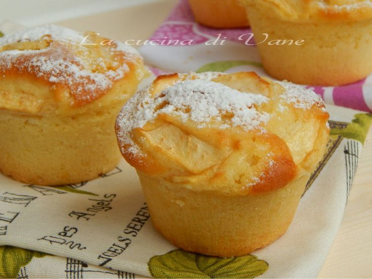 muffin sofficissimi yogurt mele
