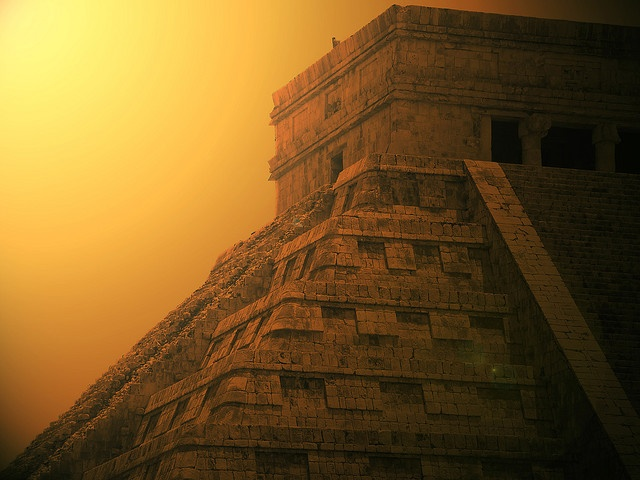 Piramide de Chichen Itza - been there...in fact been kicked out of there. oops
