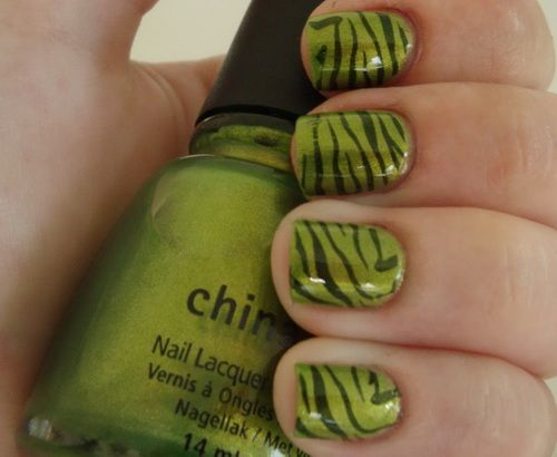 The 25 best lime green nails ideas on pinterest pretty nails zebra lime green nail designs easy nail art designs prinsesfo Images