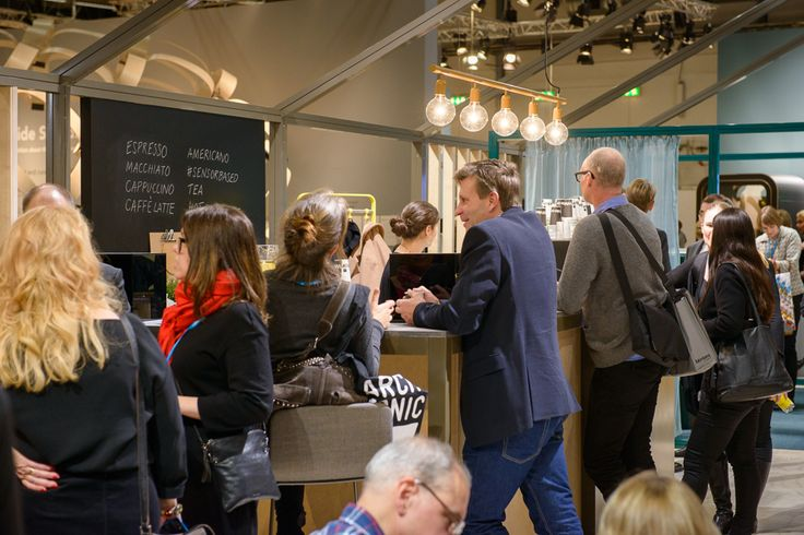 Martela booth at the Stockholm Furniture Fair 2015