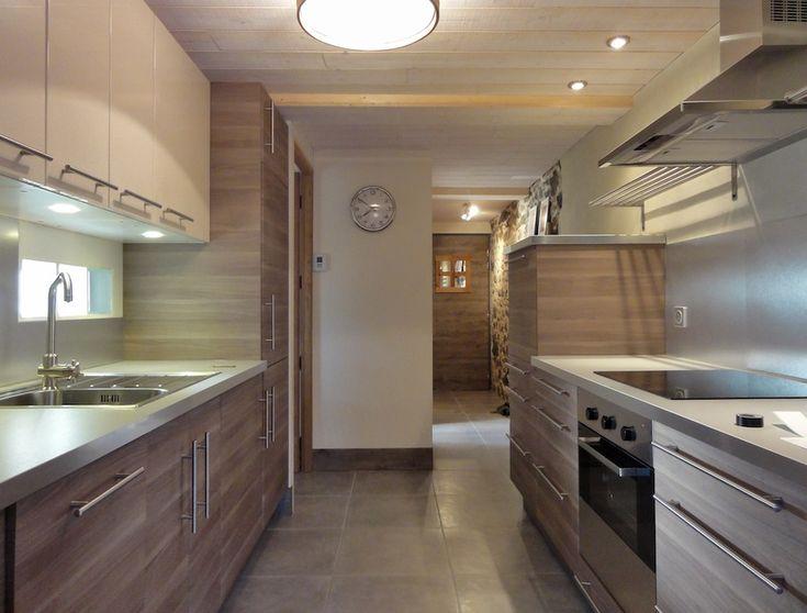 cuisine IKEA, noyer, bois