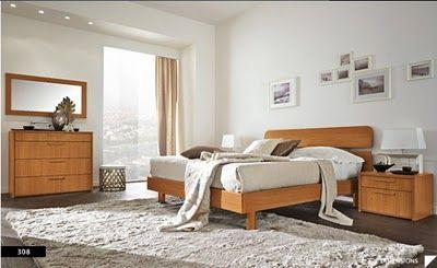Decoración dormitorio madera