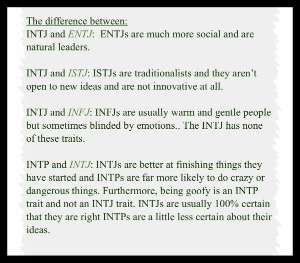 how to tell an istp and intp apart