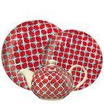 Colección By Table Zoco Rojo - Vajillas, cristalerías y cubiertos - Crea tu vajilla - El Corte Inglés - Hogar