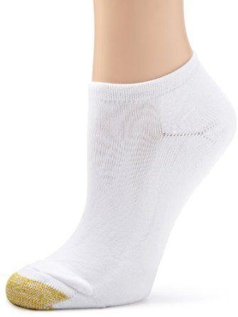 Gold Toe Women's Meg's Micro Liner 3 Pack Socks, White, 9-11 Gold Toe. $14.00