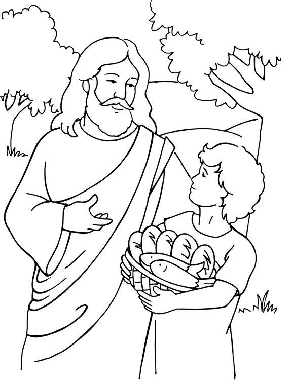 Naquele dia, o pequeno lanche do menino alimentou mais de cinco mil pessoas. O que era tão pouco, Jesus fez multiplicar e todos comeram à vontade.