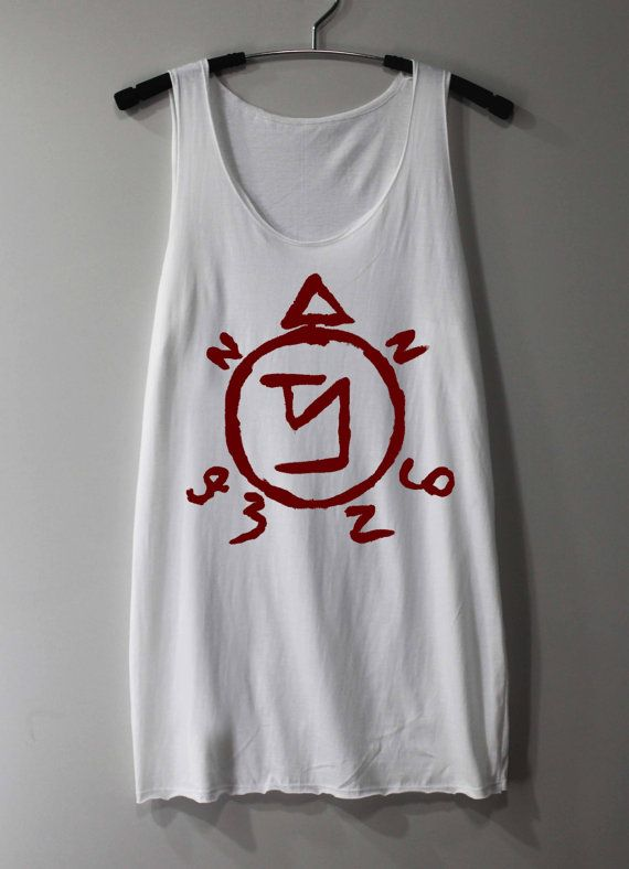 Etsy :: Supernatural Spell Shirt Angel Banishing Sigil by ThinkingGallery :: $15.00