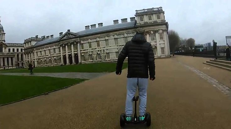 Ninebot MINI UK LONDON riding test in Royal Greenwich