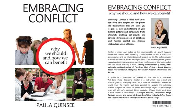 GIVEAWAY: Win a copy of Embracing Conflict, the latest book by Paula Quinsee #booklist #reading