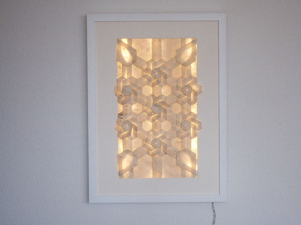 Good This Backlit Tsubaki Flower Arrangement Is Made From Just One Piece Of  Washi Paper, Folded. Origami ArtistLight ...
