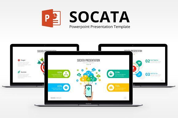 Socata Powerpoint Template by ProfessionalSlide on @creativemarket