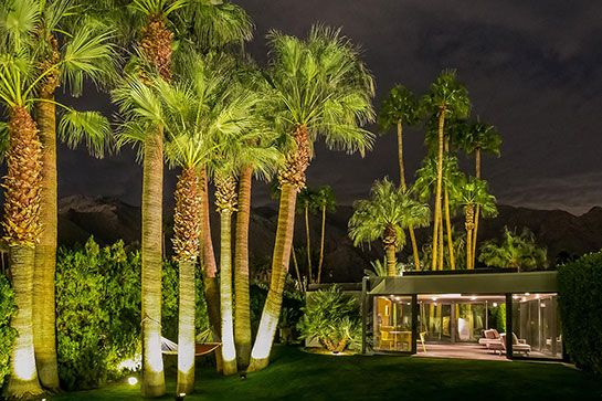 You Can Rent Leonardo DiCaprio's Sprawling $5.2 Million Compound  #refinery29  http://www.refinery29.com/2015/03/83514/leonardo-dicaprio-palm-springs-home-rental-pictures#slide-4  The house has beautiful views of the San Jacinto Mountains.