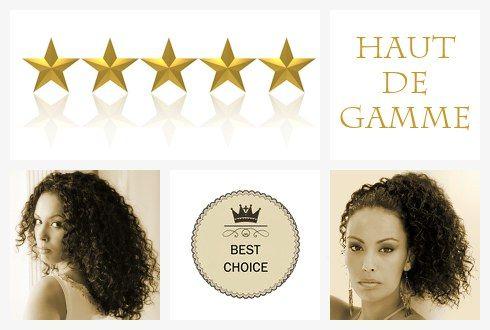Tissages brésiliens bouclés Classic Curls HAUT DE GAMME