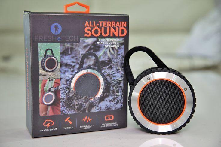 """TEST : """"All-Terrain Sound"""", l'enceinte nomade taillée pour les baroudeurs ! #Musique, #Tests - Voici notre test et avis de la  """"All-Terrain Sound"""", l'enceinte portable pour les technophiles nomades"""