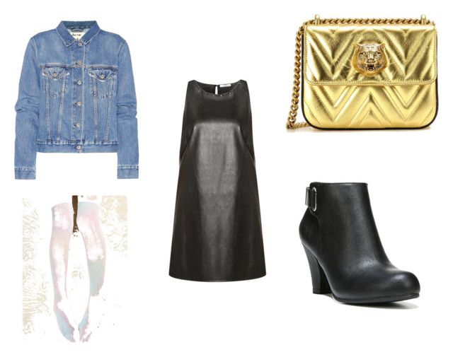 """""""26"""" by drile on Polyvore featuring Dex, Acne Studios, MYVL, Gucci and Fergalicious"""