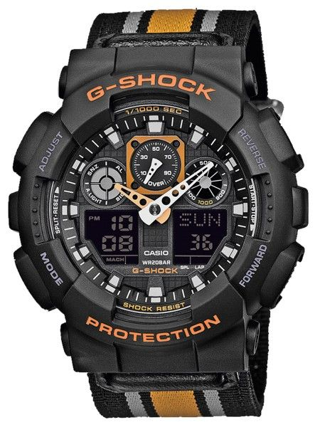 CASIO G-SHOCK Watch | GA-100MC-1A4ER