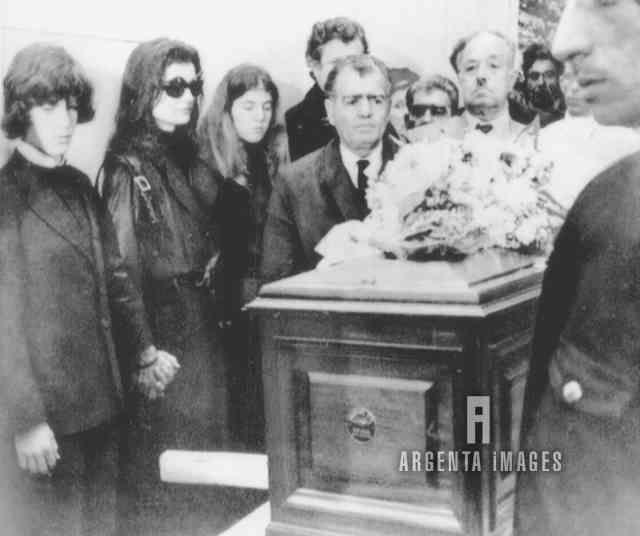 Aristotle Onassis Funeral - Bing Images