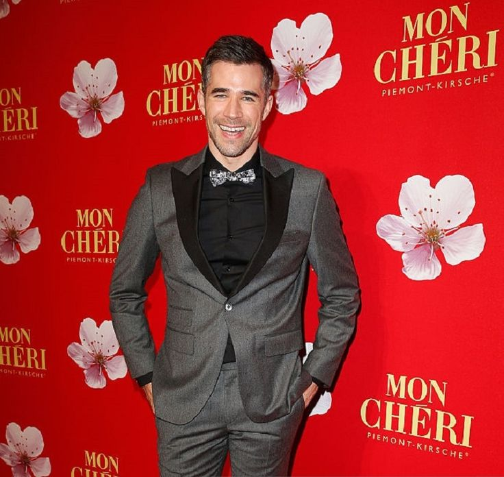 Jo Weil attends the Mon Cherie Barbara Tag 2015 at Postpalast on December 4, 2015 in Munich, Germany.