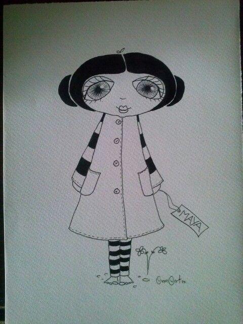 Tegning af AnnArt