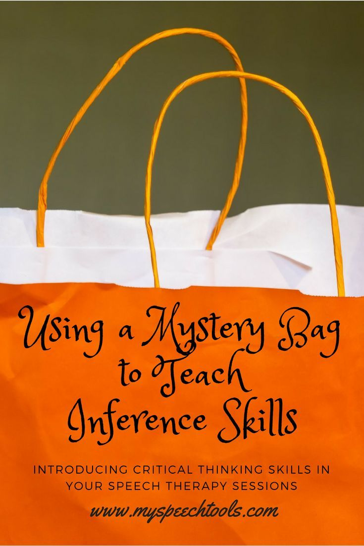 "Grab your students' attention and introduce a new theme using ""Mystery Bags"" in speech therapy. Read how I use them in speech therapy for ."