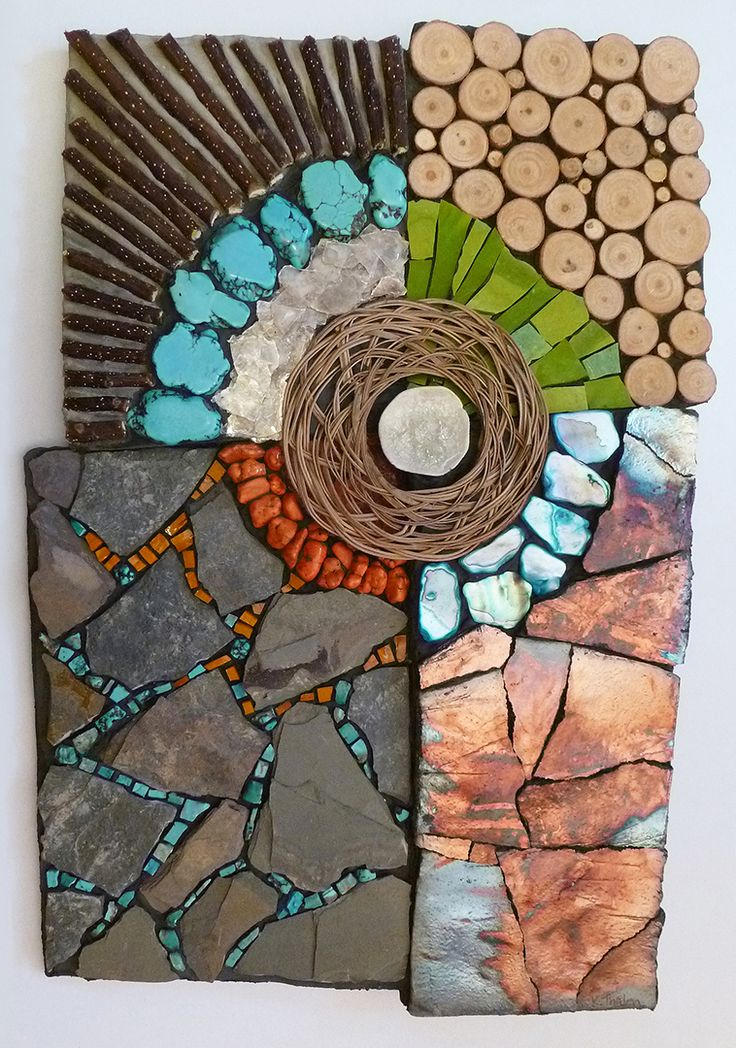 vibrant earth - Mosaic Design Ideas