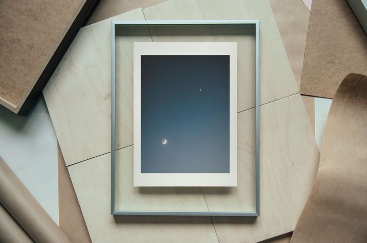 Venus and The Moon, 18 X 24 cm on A4 - Find it here: http://shop.palegrain.com/product/venus-and-the-moon-small - #limitededition #print #photography #interior #interiör #sweden #gothenburg #palegrain #artwork