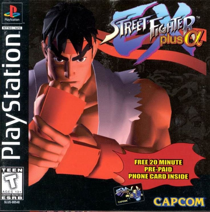 Cover art for Street Fighter EX Plus α (PlayStation) database containing game description & game shots, credits, groups, press, forums, reviews, release dates and more.