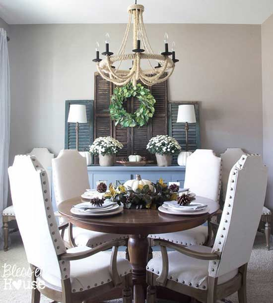 made six restoration hardware look alikes for her dining room table