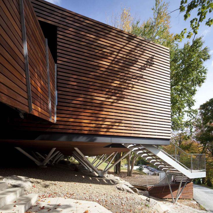 Balnea Pavillon By Blouin Tardif Architecture Environnement In Montreal,  Canada. #morfae #blouintardifarchitectureenvironement