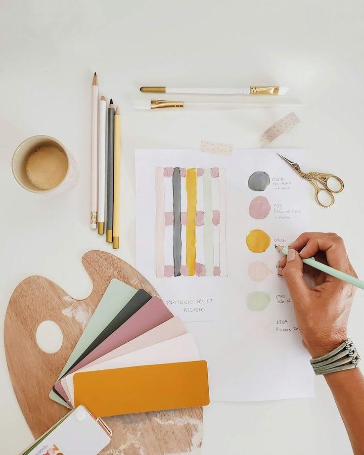 Los nuevos colores de mi pallet perchero / Vero Palazzo - Home Deco Palazzo, Office Supplies, Pink, Room, Home Decor, Colors, Summer, Ideas, Shades Of Red